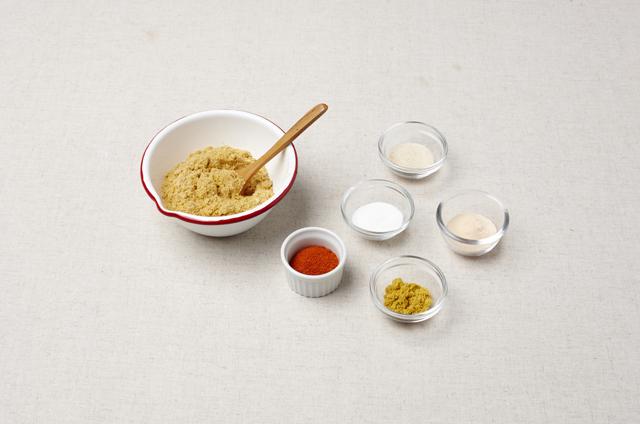 커리&치즈 왕교자 만들기 2단계 사진