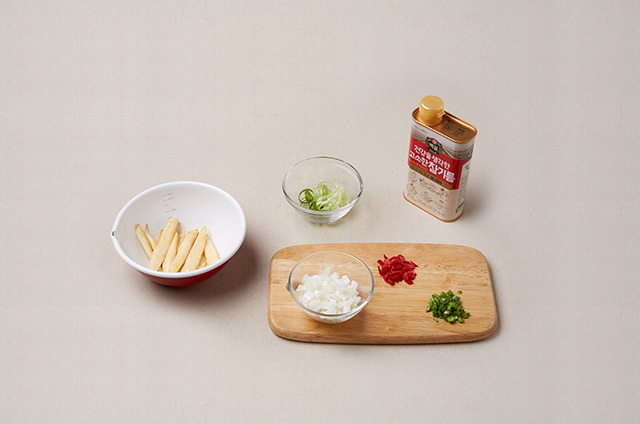 제철채소구이를 곁들인 마늘닭구이 만들기 4단계 사진