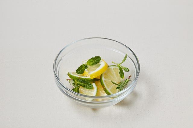 레몬꽃식초 만들기 5단계 사진