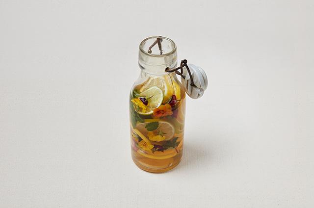 레몬꽃식초 만들기 6단계 사진