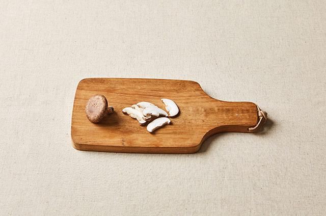 표고버섯 소고기미역죽 만들기 3단계 사진