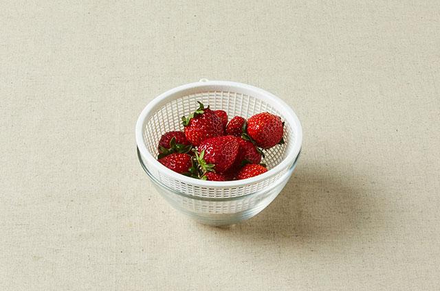 딸기 애플민트청 만들기 4단계 사진