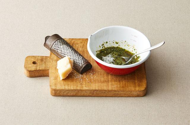 구운 토마토 모짜렐라 스파게티 만들기 3단계 사진