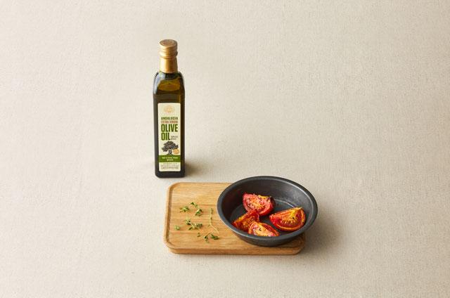 구운 토마토 모짜렐라 스파게티 만들기 4단계 사진