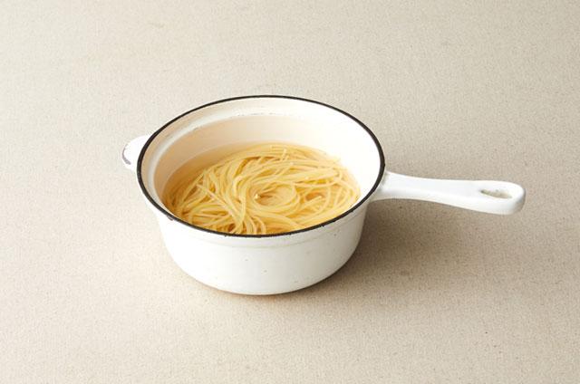 구운 토마토 모짜렐라 스파게티 만들기 5단계 사진