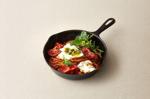 구운 토마토 모짜렐라 스파게티 만들기 7단계 사진