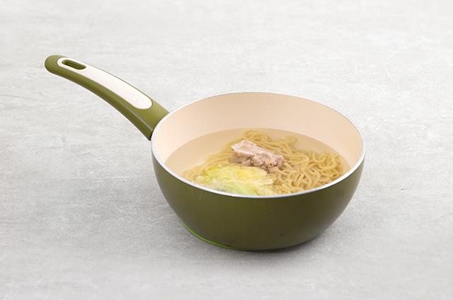매운맛 5단계 불닭갈비 볶음면 만들기 3단계 사진