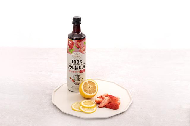딸기 홈카페 음료 만들기 7단계 사진