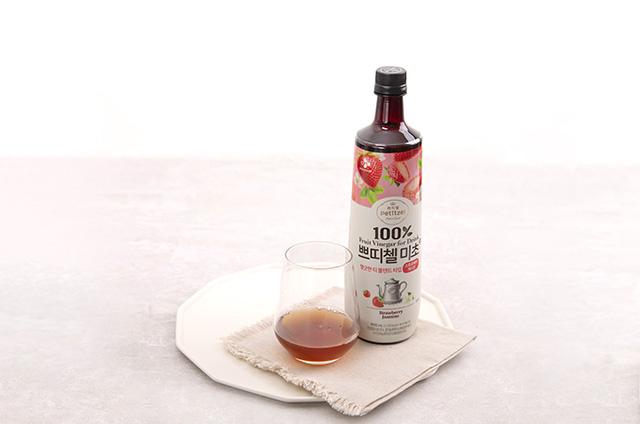 딸기 홈카페 음료 만들기 8단계 사진