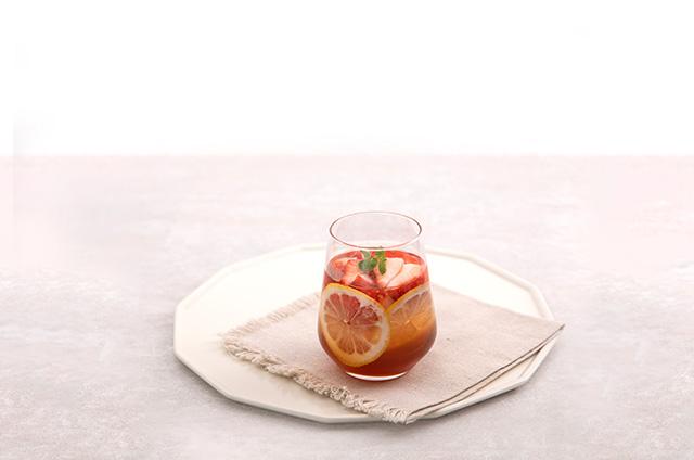 딸기 홈카페 음료 만들기 10단계 사진