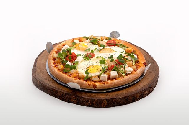 스프링 포테이토 피자 만들기 6단계 사진