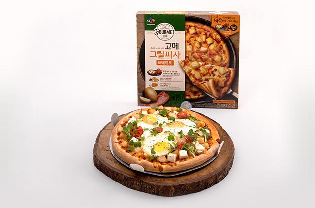 스프링 포테이토 피자 만들기 7단계 사진