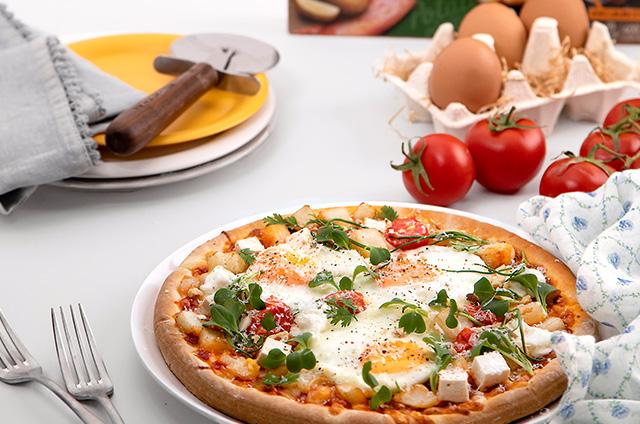 스프링 포테이토 피자 만들기 8단계 사진
