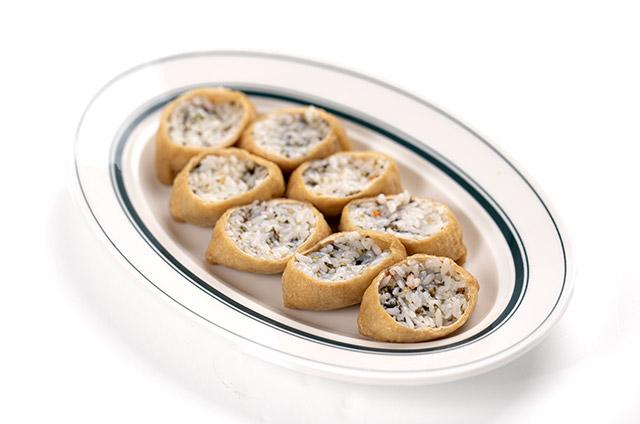 김치 날치알 유부초밥 만들기 5단계 사진