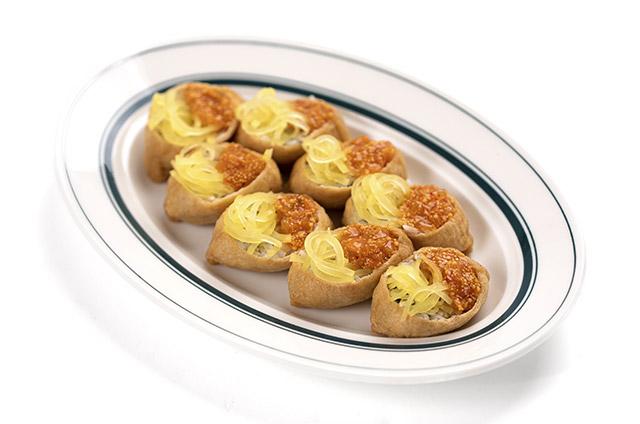 김치 날치알 유부초밥 만들기 6단계 사진