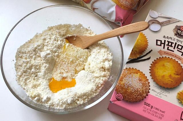 딸기 팡도르 만들기 4단계 사진