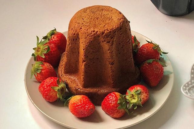 딸기 팡도르 만들기 7단계 사진