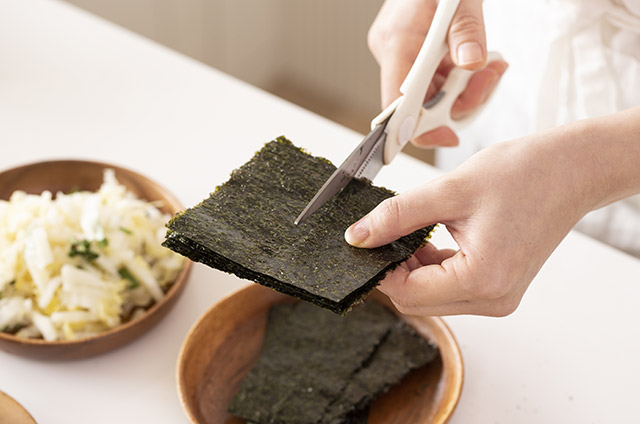 채소고기 비엔나 스타일 보슬보슬 김밥 만들기 4단계 사진