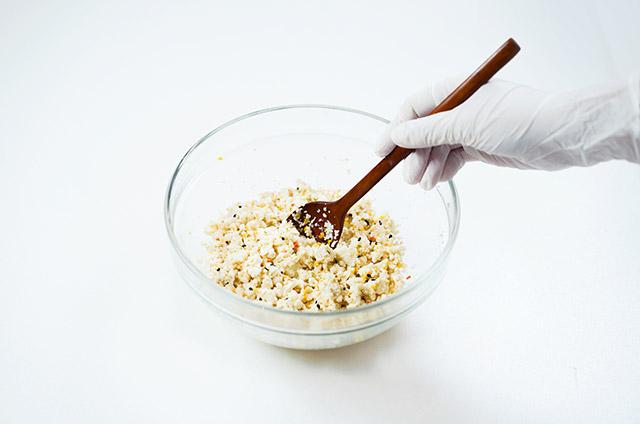 두부 유부초밥과 두부볼 주먹밥 만들기 4단계 사진