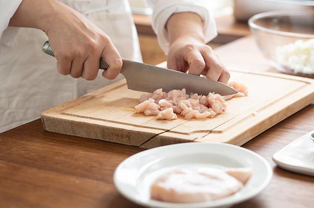닭가슴살 호두 크로켓 만들기 3단계 사진