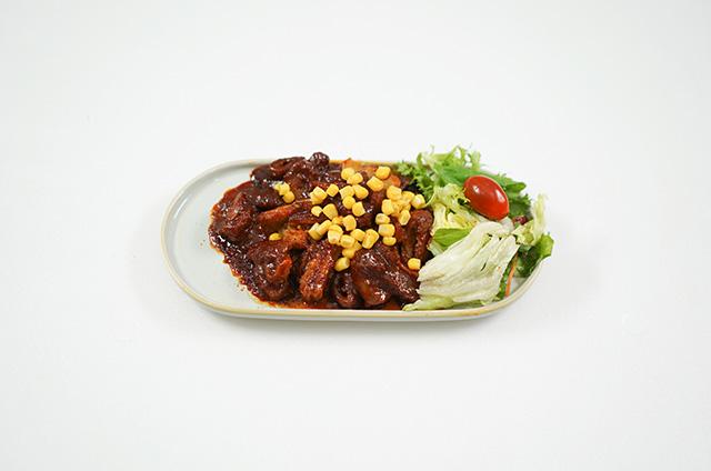 콘치즈 소양불막창&순살 불닭 만들기 4단계 사진