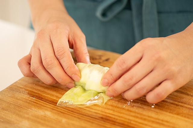 채소&고기 가득 비엔나 Style 캐비지롤 만들기 6단계 사진