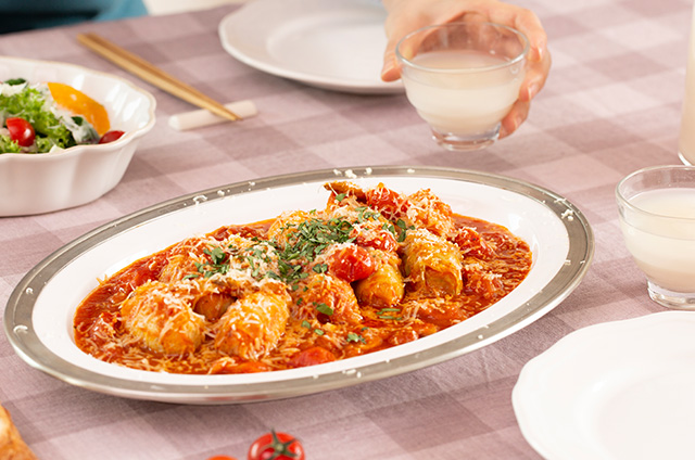 채소&고기 가득 비엔나 Style 캐비지롤 만들기 10단계 사진