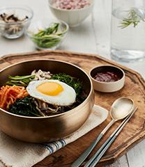 봄나물 비빔밥