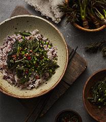 두릅 비빔밥