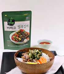 꼬막 열무 비빔 칼국수